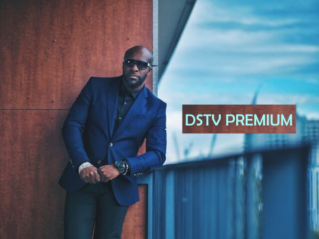 Dstv premium man in suit