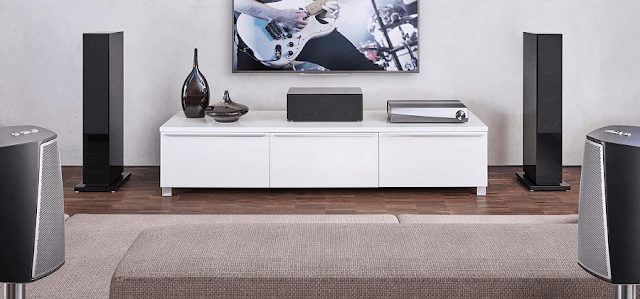 Sitting room surround sound system